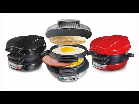 Hamilton Beach Breakfast Sandwich Maker – As Seen On TV