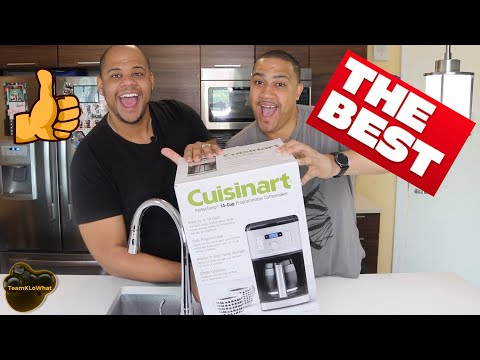 Could this be the Best Coffee Maker Under 100? Cuisinart PerfecTemp 14-cup Programmable Coffee Maker