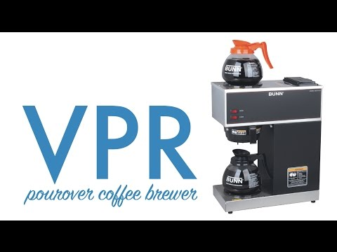 Bunn VPR Pourover Coffee Brewer with Decanters