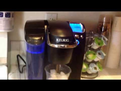 How to make single cup iced coffee with any Keurig machine properly. And my k-cup hoard!