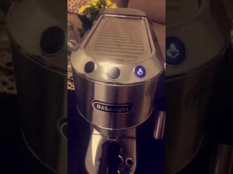 مراجعة ماكينة تحضير قهوة الاسبريسو من ديلونجي ( DeLonghi Dedica EC680 )
