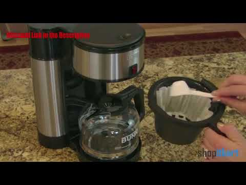 BUNN NHS Velocity Brew 10-Cup Home Coffee Brewer Review