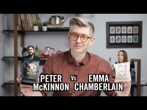 Emma Chamberlain Vs Peter McKinnon – YouTuber Coffee Review