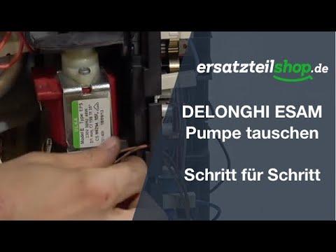 DELONGHI ESAM Pumpe tauschen – ausbauen einbauen Schritt für Schritt Reparaturanleitung