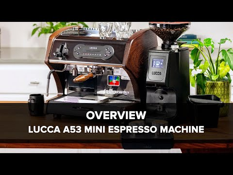 LUCCA A53 Mini Espresso Machine Overview