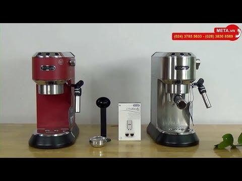 Máy pha cà phê Espresso, Cappuccino Delonghi EC685.R, EC685.M, EC685.BK, EC685.W pha 20 tách/1 ngày