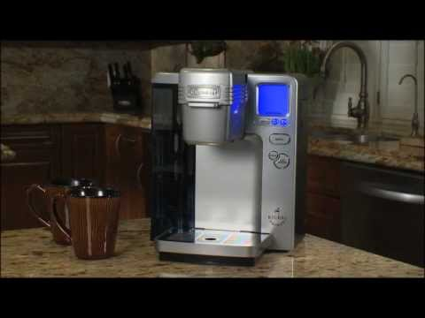 Cuisinart Single Serve (SS-700) Maintenance Video: Removing mineral Deposits by Descaling