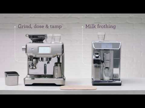See how simple the Breville Oracle Touch is vs DeLonghi PrimaDonna Elite