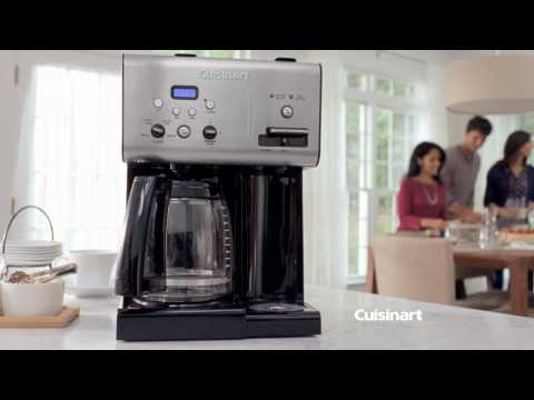 Cuisinart Coffee Plus™ 12-Cup Programmable Coffeemaker plus Hot Water System (CHW-12) Commercial