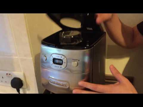 Cuisinart grind & brew auto DGB650BCU review
