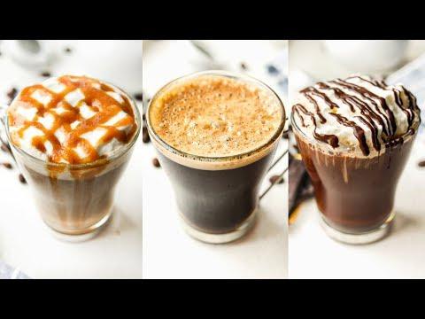 4 KETO COFFEE RECIPES | How To Make Bulletproof Coffee & MORE!