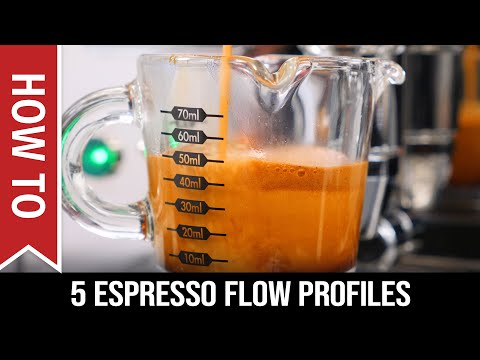 How To: 5 Flow Profiles for E61 Group Espresso Machines