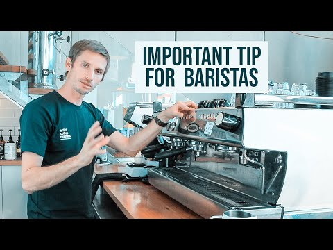 BARISTA TIP – SEASONING  the GROUP HEAD on ESPRESSO MACHINES