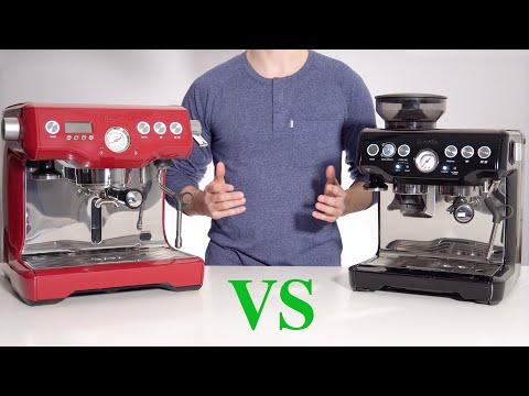 Breville Barista Express vs Dual Boiler