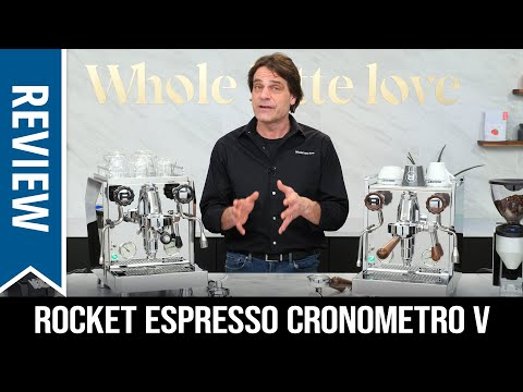 Review: Rocket Cronometro V Giotto and Mozzafiato Espresso Machines