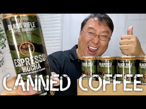 Black Rifle Coffee Company Canned Espresso Coffee Review