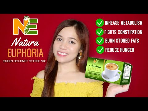 NATURA EUPHORIA GREEN GOURMET COFFEE MIX (COFFEE REVIEW) | 10 DAYS CHALLENGE!