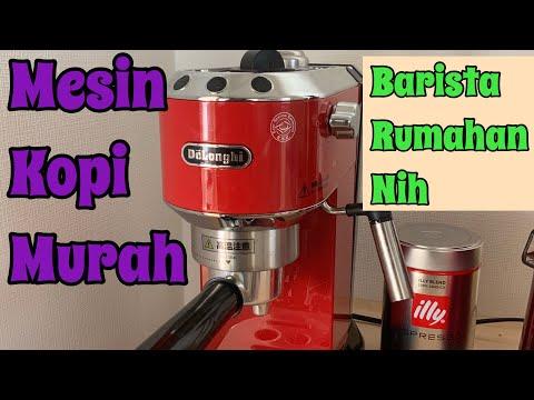 Unboxing Mesin Kopi DeLonghi Dedica | Bikin Latte & Macchiato Ala Barista Rumahan