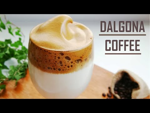 Dalgona Coffee Recipe | How To Make Whipped Coffee At Home | Frothy Creamy Coffee