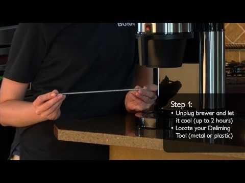 How to Clean the Sprayhead Tube on BUNN® Velocity Brew®