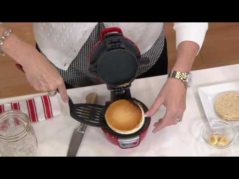 Hamilton Beach Breakfast Sandwich Maker w/ Recipe Book on QVC