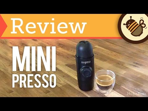 Minipresso GR – Review, Unboxing & How To (Portable, Hand-held Espresso Maker)