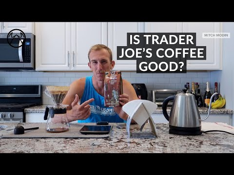 TRADER JOE'S COFFEE REVIEW (FOR YOUR AVERAGE BREWER) IS IT GOOD?!