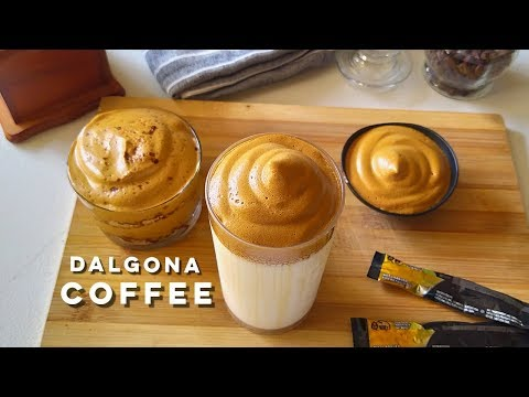 Dalgona Coffee Recipe | 3 Ingredients Non-Dairy Coffee Cream | Magic Coffee