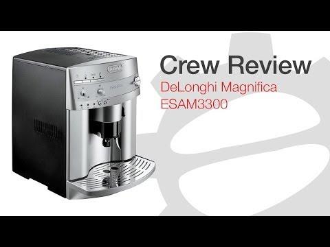 Crew Review: DeLonghi Magnifica ESAM 3300