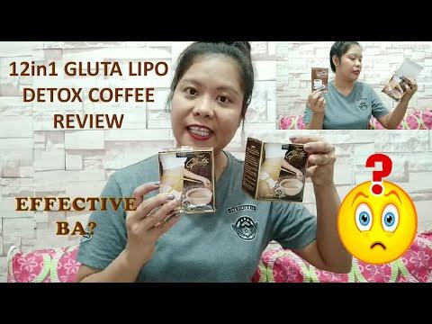 12in1 GLUTALIPO DETOX COFFEE REVIEW + ANO ANG NAGING EPEKTO SA AKIN?