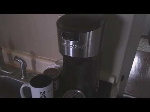 Farberware K Cup coffee maker review ( walmart )