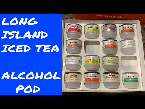 Drinkworks Home BAR by KEURIG – LONG ISLAND ICED TEA  – 3 PERSON TASTE TEST! ALCOHOL POD – 3 OF 16