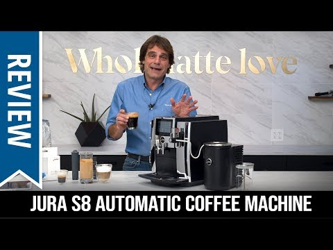 Review: Jura S8 Automatic Coffee Machine
