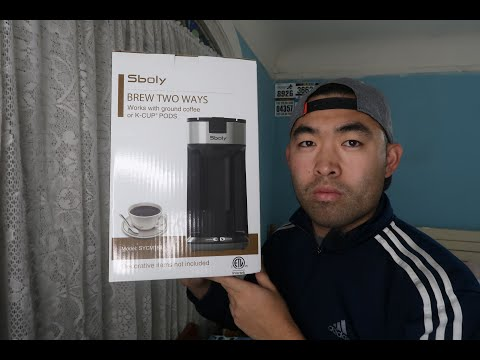 Is Sboly Fast Brew Single Cup Ground Coffee and Pod Coffee Maker Worth it?
