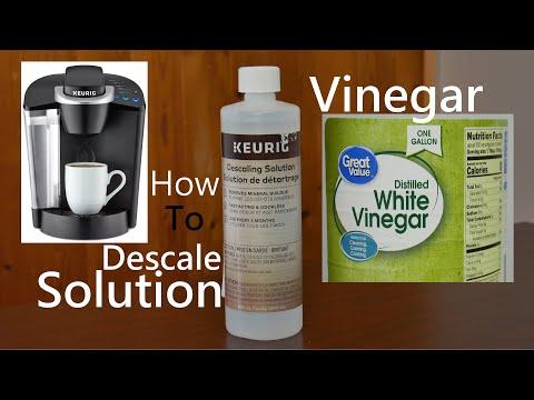How To Descale Keurig Using Solution or Vinegar Easy Simple