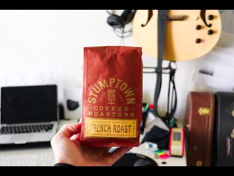 Week On Gourmet Coffee Ep. 2 StumpTown French Roast I Coffee Review