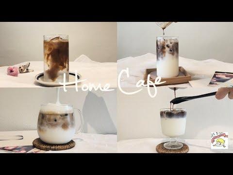How to make cafe coffee drink menu   5 Coffee Recipe [4K]