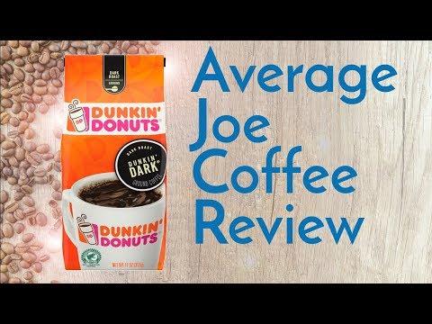Dunkin' Donuts Dark Roast Coffee Review
