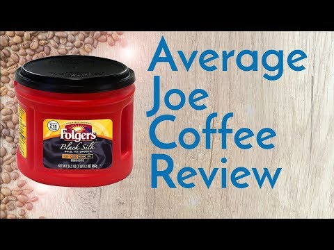 Folgers Black Silk Coffee Review
