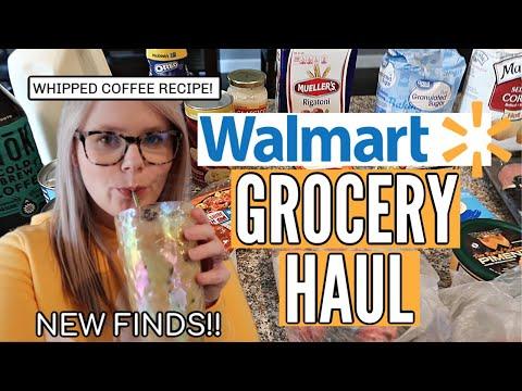 WALMART GROCERY HAUL 2020 + WHIPPED COFFEE RECIPE!