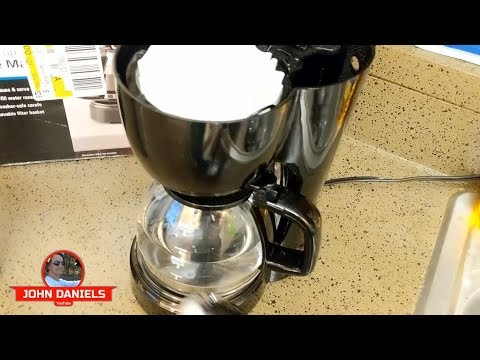 Review – Cheap Coffee Maker – Walmart Mainstays 5 Cup