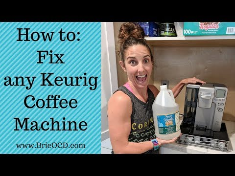 How to Fix your Cuisinart SS-10 Keurig Coffee Machine  (or any Keurig Machine)