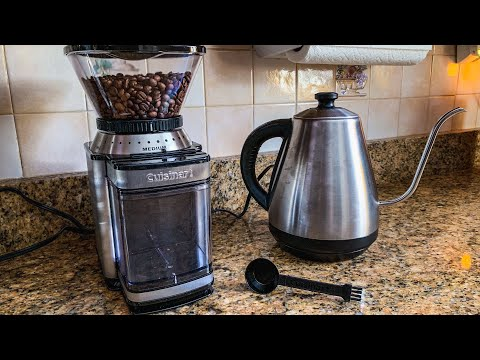 Cuisinart DBM-8 Supreme Grind Automatic Burr Mill – Unbox and Review