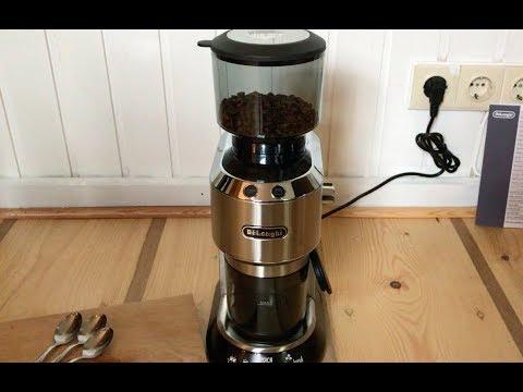 Die Delonghi Dedica KG 520 M Kaffeemühle im ausführlichen Test