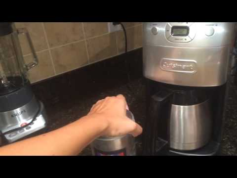 Cuisinart Grind n Brew how to