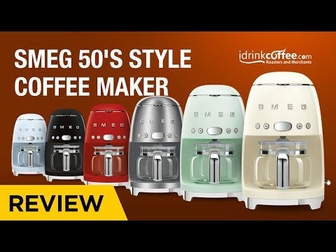 Smeg 50's Style Coffee Maker Preview