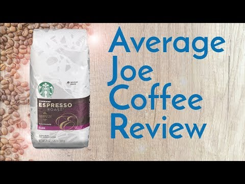 Starbucks Espresso Roast Coffee Review