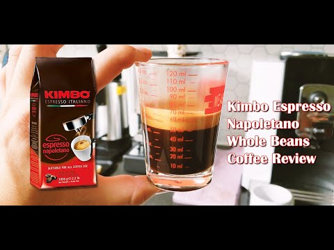 Kimbo Espresso Napoletano Whole Bean Coffee Review