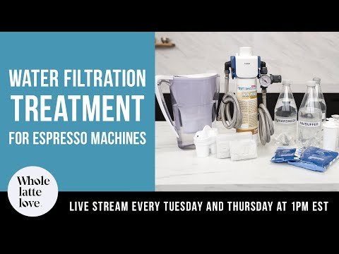 Water Filtration and Treatment for Espresso Machines