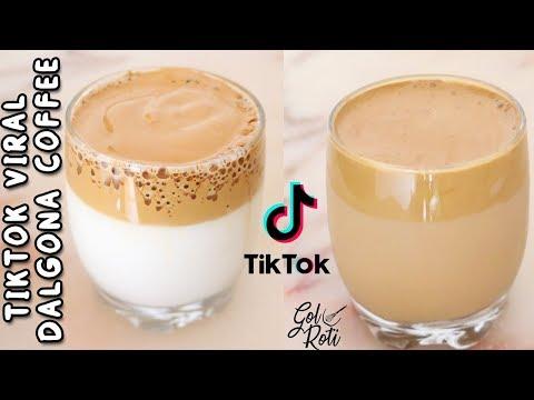 TIKTOK VIRAL DALGONA COFFEE – COLD COFFEE RECIPE – GolRoti